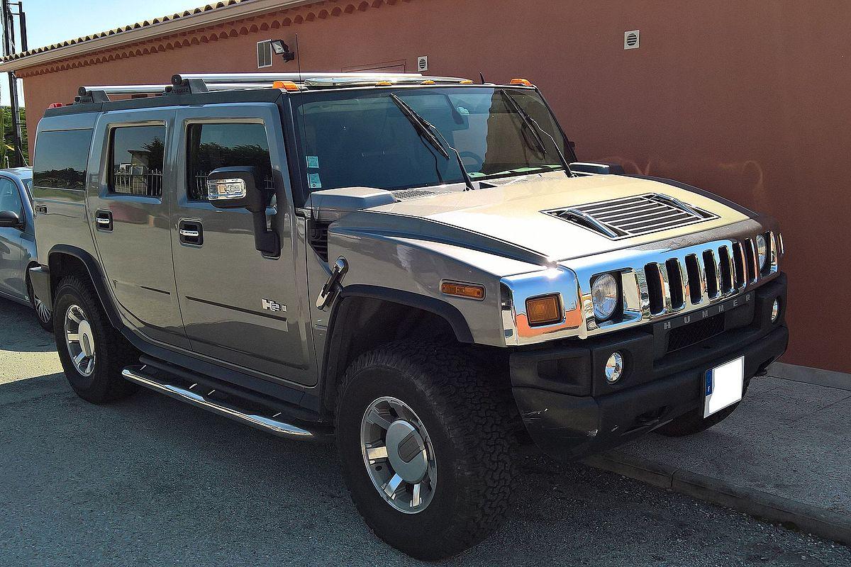 Range Rover Suv >> Hummer H2 – Wikipédia, a enciclopédia livre
