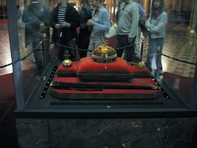 File:Hungarian Crown Regalia.jpg