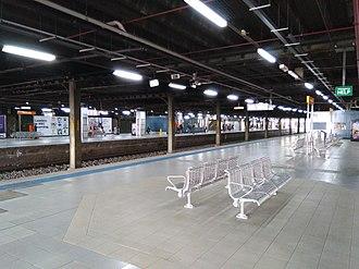 Hurstville railway station - The platforms