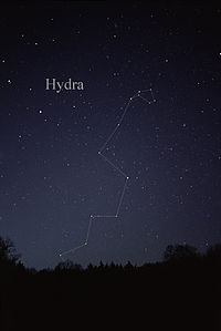 who named the constellation hydra