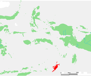 Tanimbar Islands - Tanimbar Islands in the south of Maluku Islands