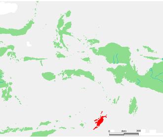 Tanimbar Islands - Tanimbar Islands in the south of Maluku Islands