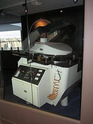 IMAX - IMAX projector with horizontal film reel