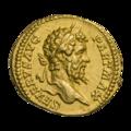 INC-1851-a Ауреус Септимий Север ок. 200-201 гг. (аверс).png