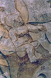 interieur, detail van schildering na restauratie - margraten - 20303706 - rce