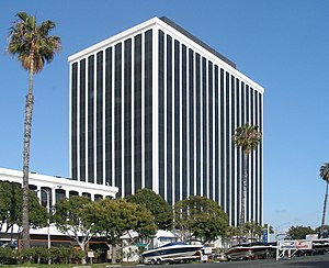 The office tower in Marina Del Rey which is ho...