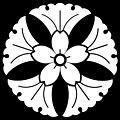 Ichō ni Sakura inverted.jpg