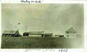 Idalia, Colorado - The Town of Idalia in 1913