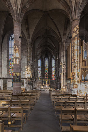 Frauenkirche, Nuremberg - Interior of the church