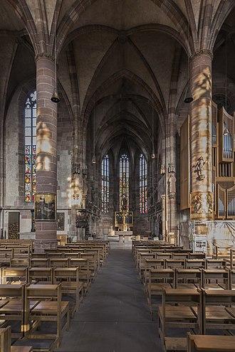 Frauenkirche, Nuremberg - Interior of the church
