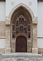 Iglesia de San Marco, Zagreb, Croacia, 2014-04-20, DD 05.JPG