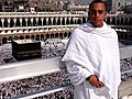 Ihram white color , US Marine in Mecca, Saudi Arabia.jpg