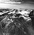 Ikagluik Glacier, mountain glacier and arete peaks, August 26, 1969 (GLACIERS 7036).jpg
