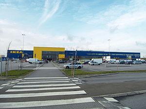 Svågertorp - The IKEA store in Svågertorp.