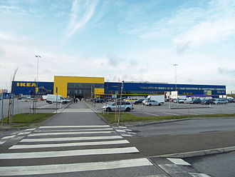 Svågertorp - The IKEA store in Svågertorp.