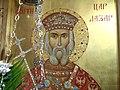 Ikona svetog kneza Lazara u biogradskoj Lazarici.JPG