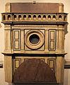 Il cronaca, baccio d'agnolo, giuliano e antonio da sangallo (attr.), modello 142 per il ballatoio, 1507.JPG