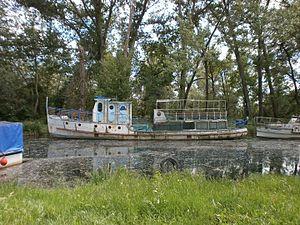 2009 Lake Ohrid boat accident - The Ilinden still unused (2016)