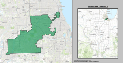 Illinois's 3rd congressional district - since January 3, 2013.