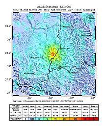 2008 Illinois Earthquake Wikipedia