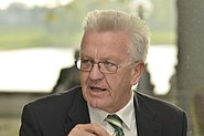 Im Gespräch Sylvia Löhrmann und Winfried Kretschmann (2)