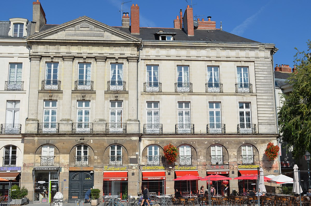 immeuble au 5 place du bouffay de nantes wikip dia. Black Bedroom Furniture Sets. Home Design Ideas