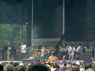 Incubus (band) - Incubus performing at the Virgin Festival in Baltimore in 2007.
