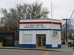 Independence, California - Independence, California Post Office