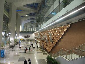 Inside Terminal 3 at Indira Gandhi International Airport.JPG