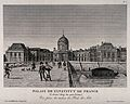 Institut de France, Paris; panoramic view including part of Wellcome V0014336.jpg