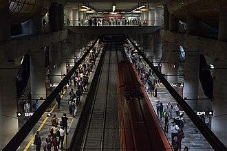 Metro Insurgentes Sur - Image: Insurgentes Sur metro station
