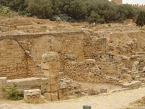 Chellah - Roman walls of Chellah