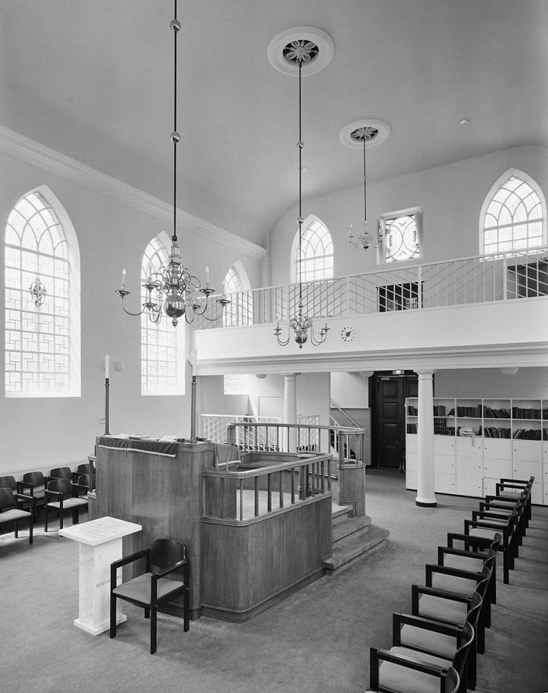 Synagoge der ned israelitische gemeente in amersfoort for Interieur amersfoort