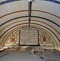 Interieur, overzicht van het schot achter het orgel met schildering van de tien geboden - Krommenie - 20381962 - RCE.jpg