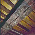 Interieur rechter toren, geschilderd balkenplafond - Goes - 20379819 - RCE.jpg