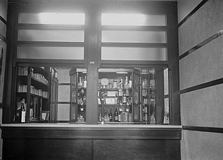 Interior of Drover's Arms Hotel, Builth Well
