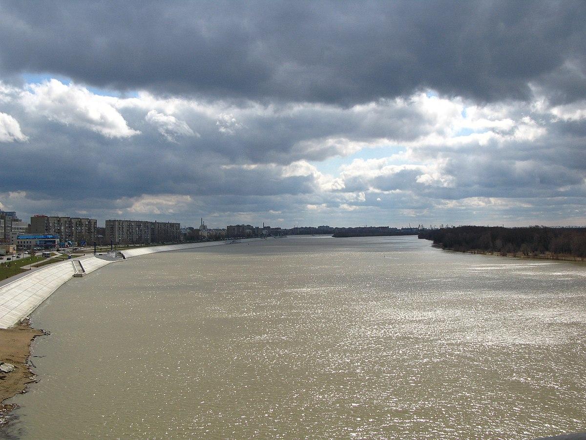 Куда впадает река иртыш схема