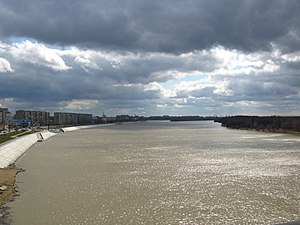 Irtysh River - The Irtysh in Omsk