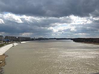 Irtysh River - The Irtysh in Omsk