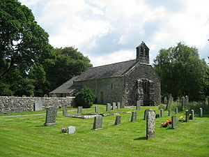 Grade I listed buildings in Cumbria - Image: Isel Church geograph.org.uk 212448