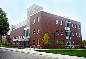 St. Cloud State University - ISELF, a science and engineering building composed almost entirely of interdisciplinary laboratories.