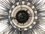 Ishikawajima-Harima F100-IHI-100 turbofan engine afterburner inside view at JASDF Gifu Air Base November 27, 2011 01.jpg