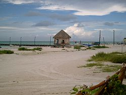 Isla Holbox in June, 2008