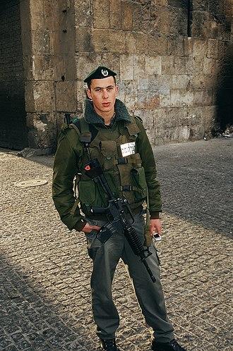 Blouson - Image: Israel 4 021.Israelic Soldier