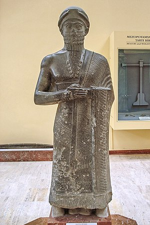 Royal Palace of Mari - The Statue of Puzur-Ishtar, Former Governor of Mari