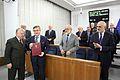 Iurie Bodrug 67th sitting of the Senate of Poland 02.JPG