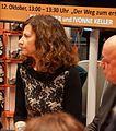 Ivonne Keller auf der Frankfurter Buchmesse 2014.JPG