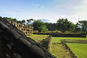 Izapa - Tacana volcano as seen from Izapa to the north
