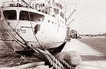 Izraelska ladja Palmah v koprskem pristanišču 1962 (3).jpg