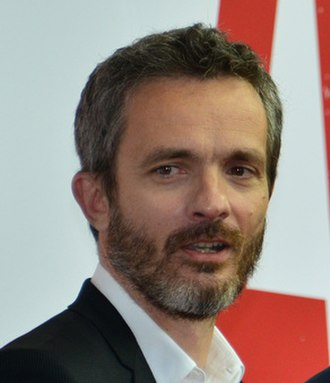 Jérôme Salle - Salle at the premiere of Zulu
